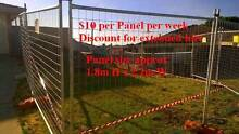 Temporary Fence Hire $10 per panel Sorrento Joondalup Area Preview