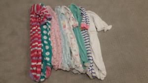 Girl's 9 month summer lot