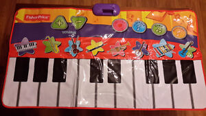 Fisher Price Dancing Tunes Step On Keyboard