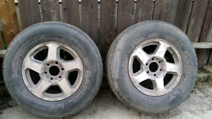 Various  Chevy trailblazer rims and tires for sale
