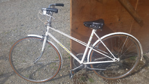 Vintage White John Deere Bicycle For Sale Only 200!!!