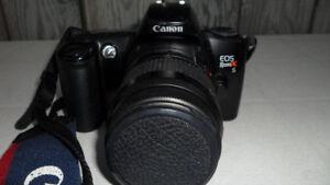 Canon Eos RebelX 35mm Camera $60. Takes film. Not a digital.