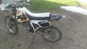 Honda xr250r dirt bike for sale or trade for motorcycle