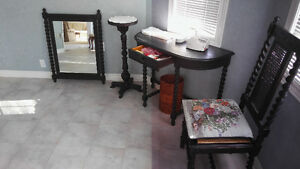 Contents of house, furniture, paintings,  dining set