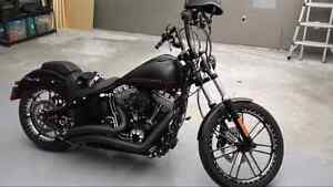 2013 Blackline Harley Softtail