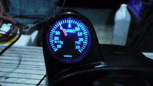 VW Golf/Jetta MKV (MK5) Boost gauge and mounting pod (From ECS)