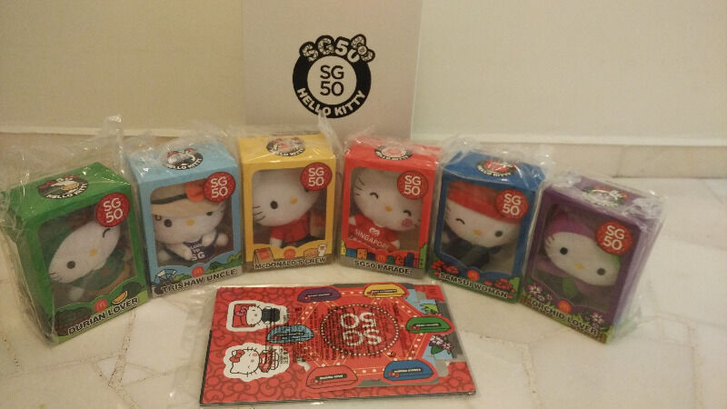 Brand New McDonald's SG50 Hello Kitty collectibles Set