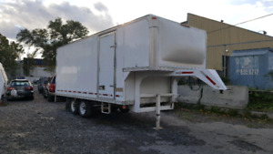 Trailer fifth wheel 18pied