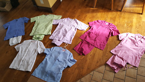 Scrubs size small and extra small