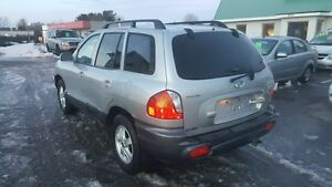 HYUNDIA SANTA FE AWD *** FULLY LOADED SUV *** CERT $4995 Peterborough Peterborough Area image 4