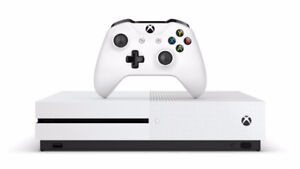 Xbox One S 1TO trade for Ps4
