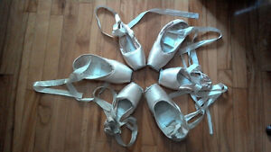Pointes usagées à vendre / used pointe shoes to sell
