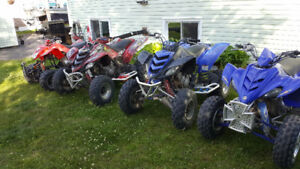 wanted blown up or unwanted yamaha raptors !!!!
