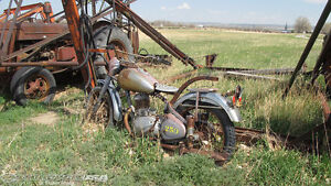 Looking for your old motorcycles, can be anything at all.