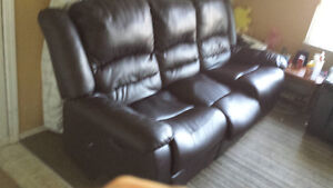 Sofa recliner with chair