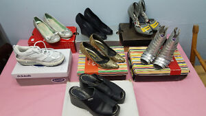 Used Assorted Women's Shoes Starting At $10.00 & Up