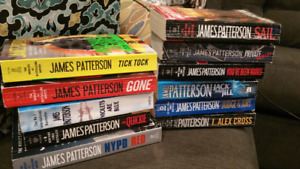 James Patterson soft covers