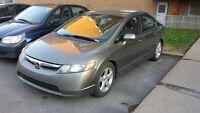 2006 Honda Civic Berline manuelle 5500 $ or best offer