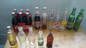 Soda Bottles - sell as a lot.