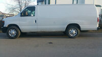 2009 Ford E-250 Extended Cargo van eco