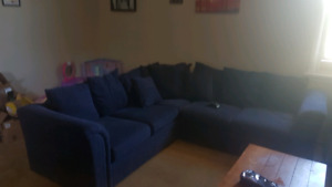 Navy Sectional