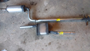 Ford Focus Cat back exhaust