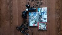 PS3 Bundle rocksmith/realtone cable/controllers/games