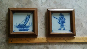 Delft Blue Picture Frames