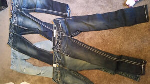 5 pairs of womens jeans