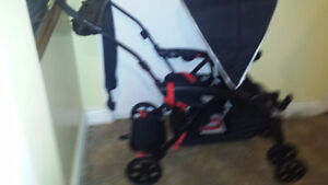 safety first sit and stand double stroller