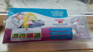 Heat in a click heating pad NIB