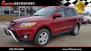 "CERTIFIED 2011 SANTA FE ""GLS"" AWD - HTD SEATS + MORE - YORKTON"