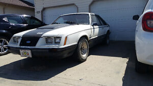 1983 Mustang GT for Restoration Price negotiable