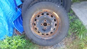 14 inch rims & tires