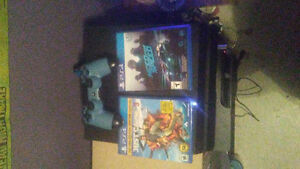 Mint ps4 with 2 games just cause 3 n need for speed 1 controller