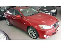 2007 LEXUS IS 220D SPORT Red Manual Diesel