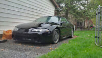 1997 Mitsubishi Eclipse/Talon project car with wheels and parts