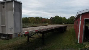 53' Lode King Flatbed Trailer Peterborough Peterborough Area image 4