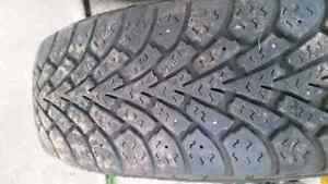 Honda Fit  or  Civic :  2-  tires and wheels