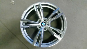 "New arrival BMW 20"" staggered gunmetal with machine"
