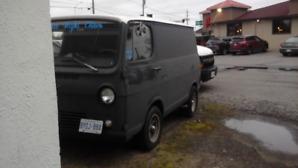 1966 chevy g10  van shorty
