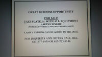 Taxi spot for sale, Be your own Boss!