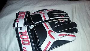 soccer gloves & soccer ball