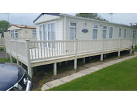 Static Caravan Decking | Mobile Home Veranda L-Shaped Balcony | Fire Rated VGC