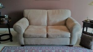 LOVESEAT Bauhaus Ultrasuede  - Make an Offer