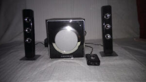 Centrios Speakers 2.1