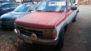 1992 Dodge Dakota Project