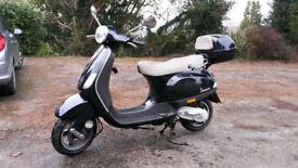 Scooter Vespa LX 50 Black 2007