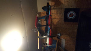 RC biplane for sale