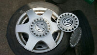 "4 VW 16"" Rims 5 bolt pattern"